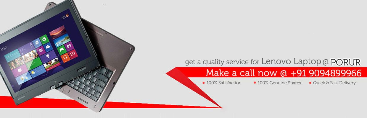 lenovo laptop service center in porur